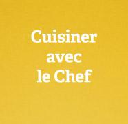 Cuisiner avec le chef du restaurant Le Gibus à Caen